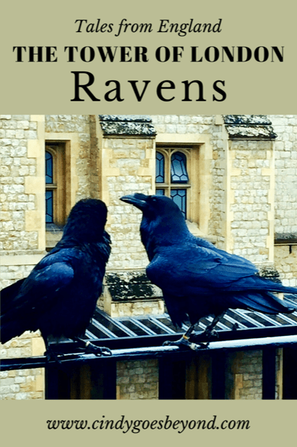 The Tower of London Ravens title meme