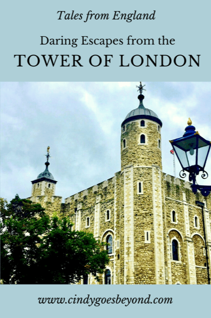 Daring Escapes from the Tower of London title meme