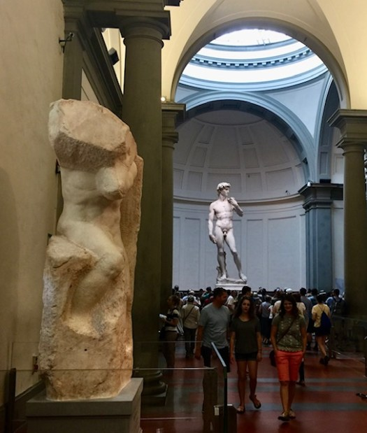 Things You May Not Know About Michelangelo's David first view