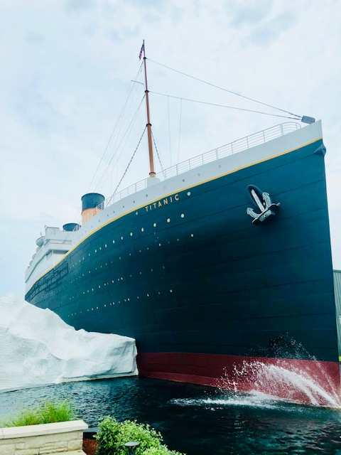 Titanic Museum Branson Missouri ship