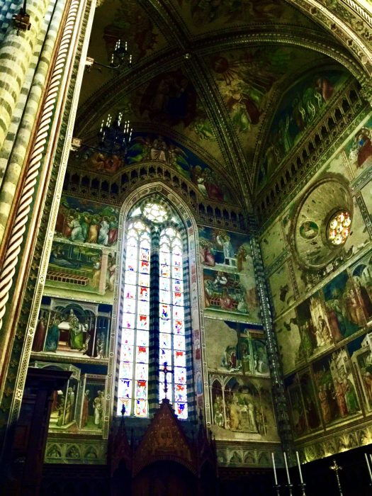 Fun Facts about Orvieto Italy chapel