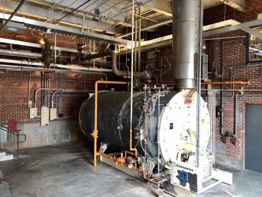 The Momentary boiler room