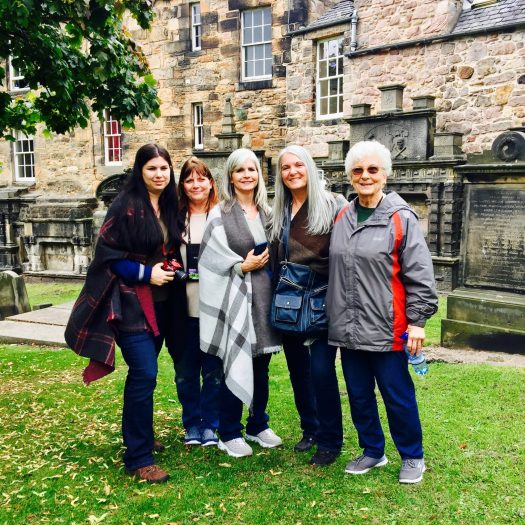 Ghosts Stories from Edinburgh group photo