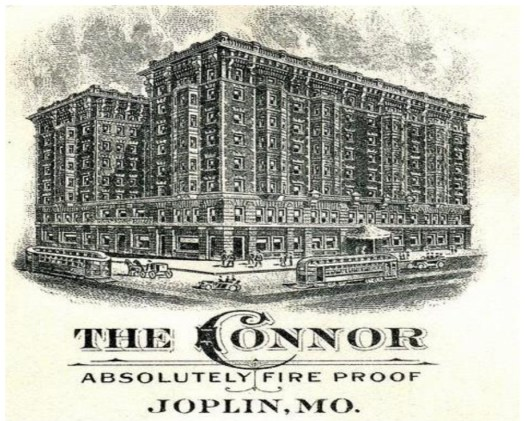 Ghost Stories from Joplin The Connor Hotel