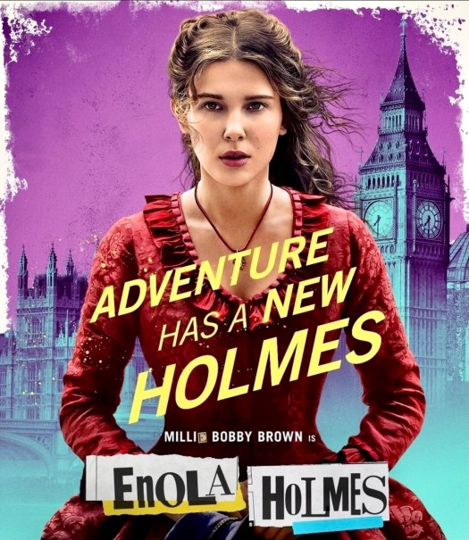 Movie Review Enola Holmes poster