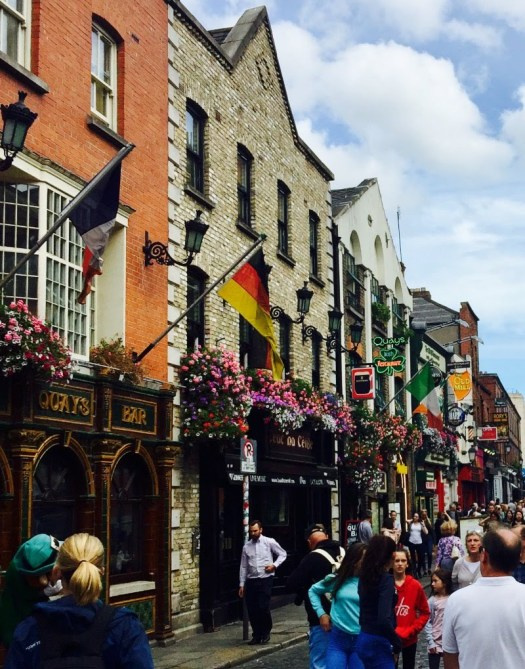 Fun Irish Phrases and What They Mean temple bar area