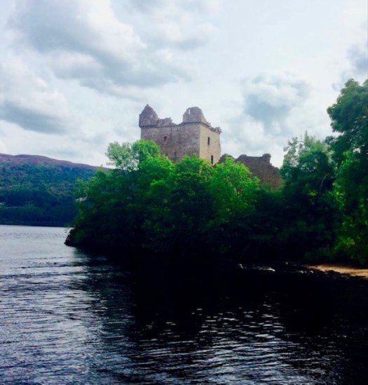 Ten Fun Facts about Loch Ness Urquharg Castle Tower