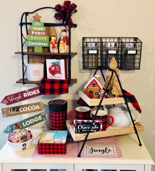 Christmas Wonderland with Decocrated cocoa bar