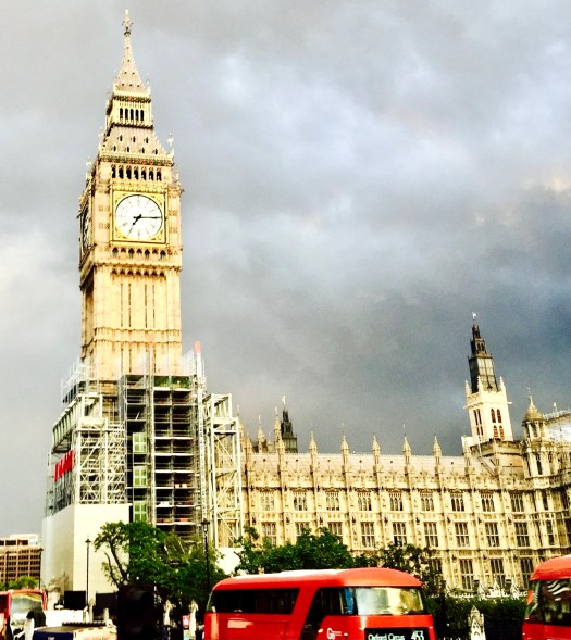 Fun Facts About Big Ben red bus