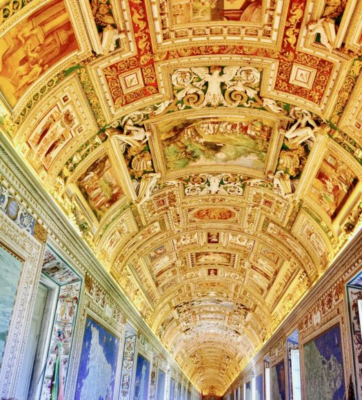 Vatican City Hallway