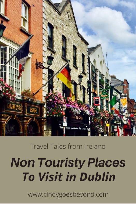 Non Touristy Places to Visit in Dublin title meme
