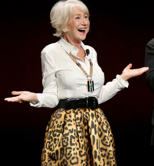 Spunky Old Broads Day helen mirren