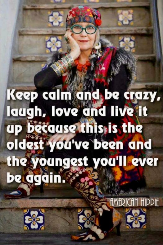 Spunky Old Broads Day keep calm