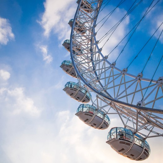 Fun Facts about the London Eye pods