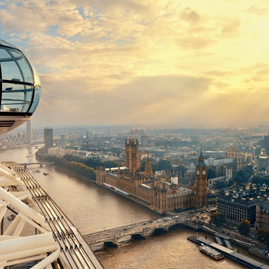 Fun Facts About the London Eye views