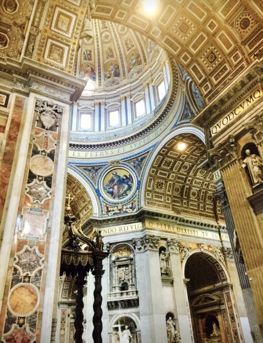 Must Visit Places in Rome St Peters Basilica
