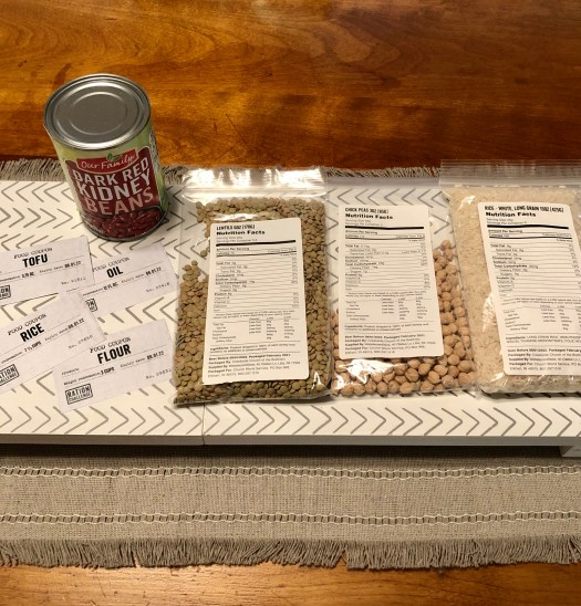 World Refugee Day rations