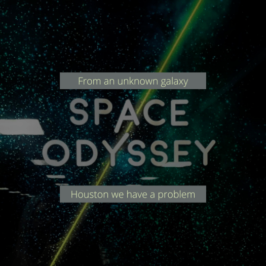 Andy Bs Space Odyssey Escape Room poster