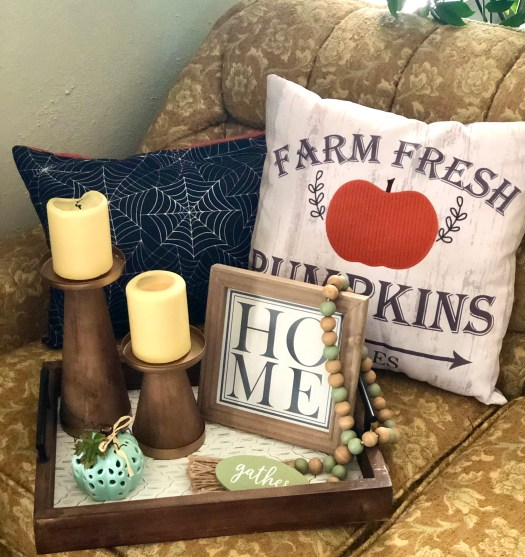 Treats for Halloween from Decocrated pillows