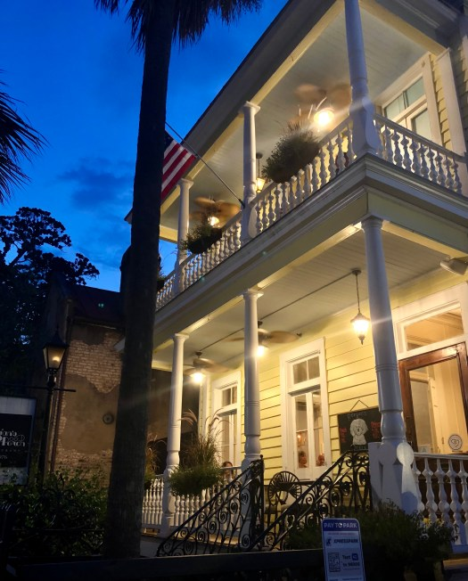 Ghost Stories from Charleston poogans porch