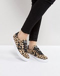 baskets léopard