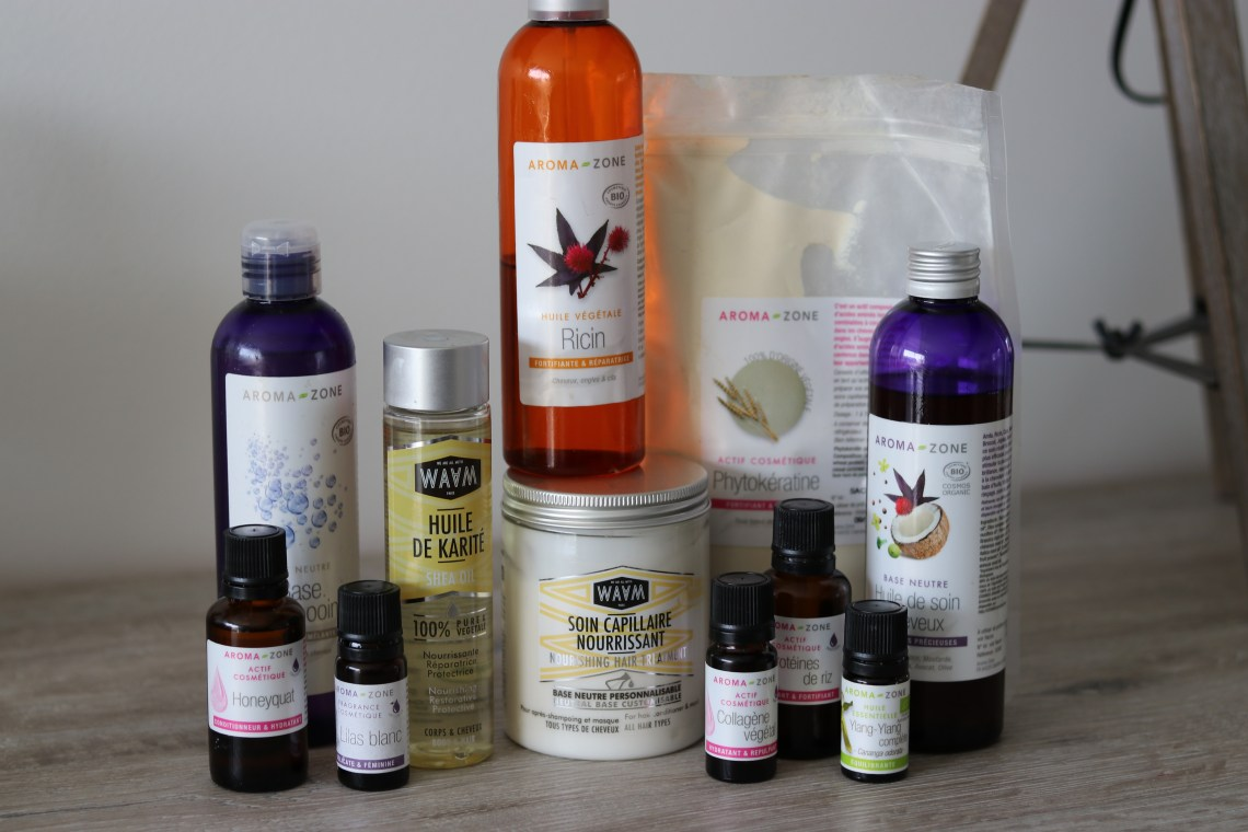 aroma-zone huiles soins waam cheveux