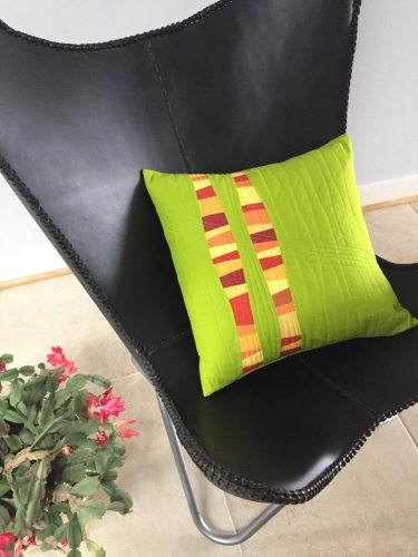 Complementary Curves Pillow Tutorial - Cindy Grisdela Art Quilts