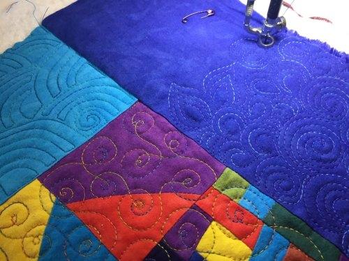 Adding the Texture - Cindy Grisdela Art Quilts