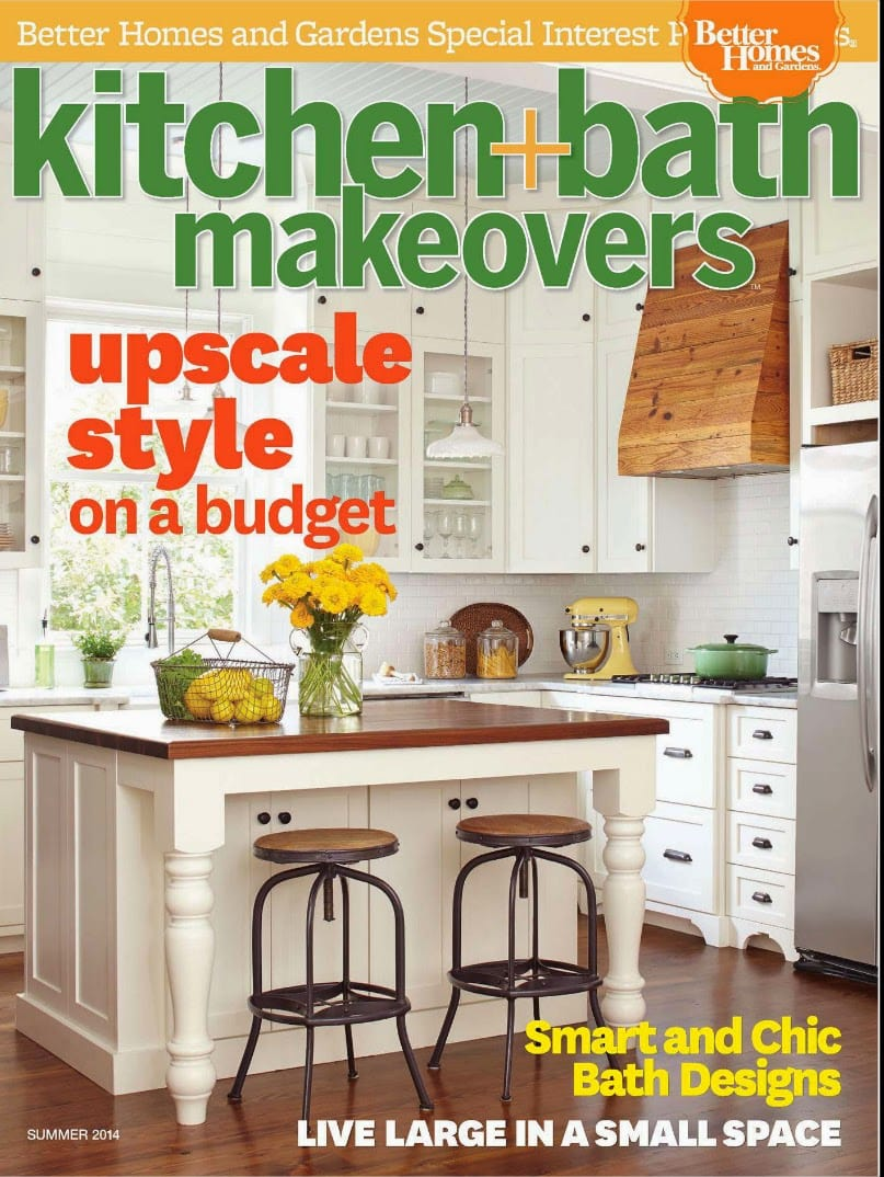 This Issue Is Chock Full Of Ideas And Inspiration For Anyone Contemplating  A Kitchen Makeover On A Limited Budget. You Can Find Our Kitchen On Page 54  Of ...