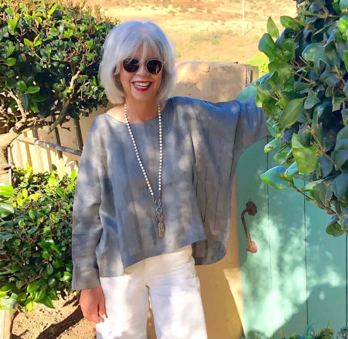 Cindy Witmer Designs In 2019: Ageless Style-Ali MacGraw Aging Gracefully