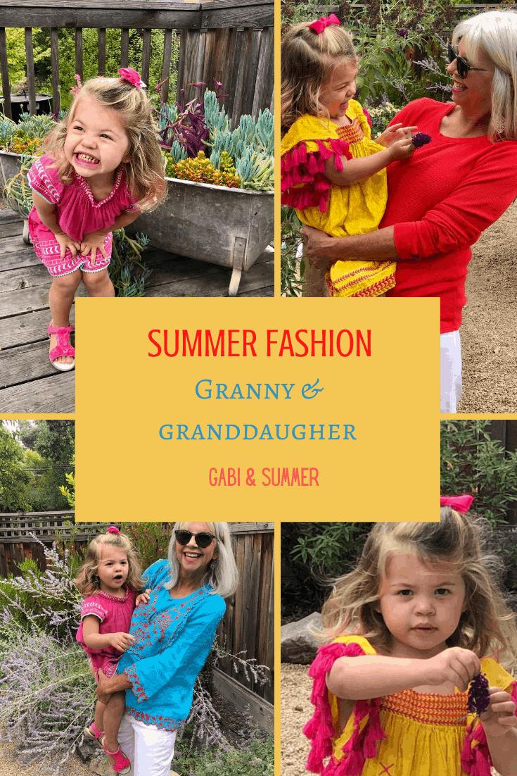 Fashion Over 50 Granny Granddaughter Cindy Hattersley Design