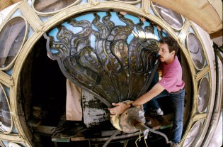 Grand_Central_Terminal_Tiffany_Clock_Stained_Glass_Panel_Restoration_Repair_NYC