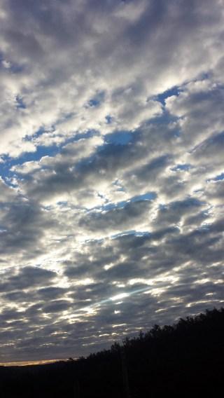 Le ciel...