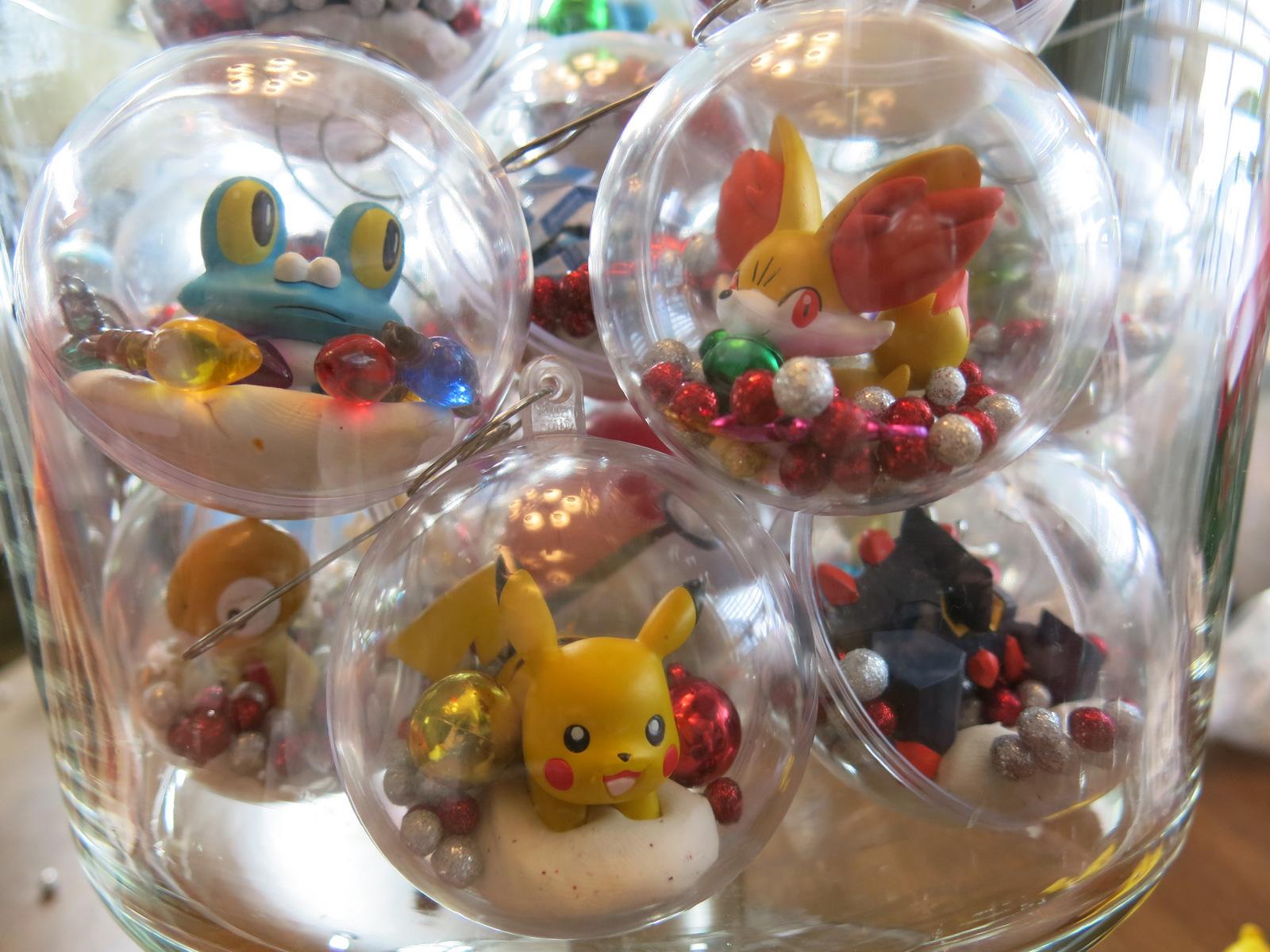 DIY Pokemon Christmas Decorations Cindy Kohler