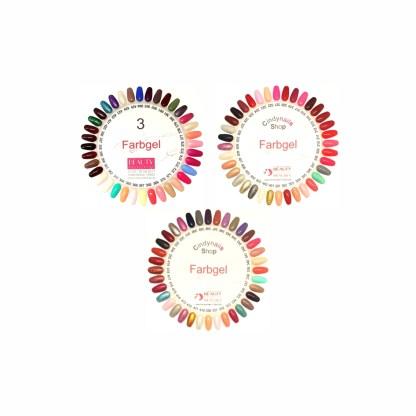 Farbgel Set 6, 108 Farben, 5g 1