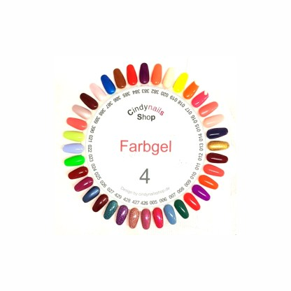 Farbgel Set 4, 36 Farben, 5g 1