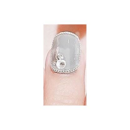 Nagelkette aus Metall Gold/Silber A20 3
