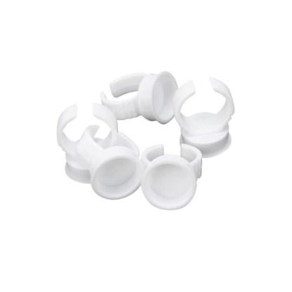Kleber Halter Ringe für Wimpernverlängerung 1