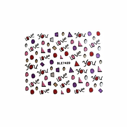 Nail Stickers N115 1