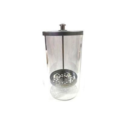 Desinfektionsglas Sterilizer mit Metalldeckel 1