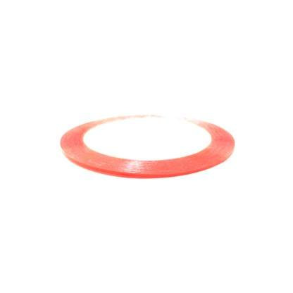 Nail Art Streifen Klebeband S16 - Orange 1