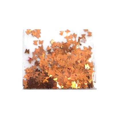 3D Schmetterling – Bronzer Orange - B30 1