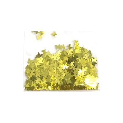 3D Schmetterling - Gold - B22 1