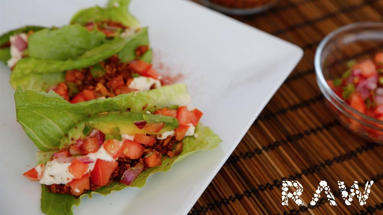 30 Days Raw Challenge and Raw Taco Recipe