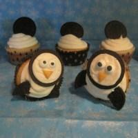 Oreo Penguin Cupcakes