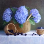 Berries and Hydrangea
