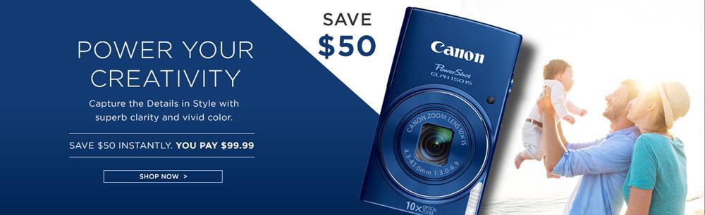 Canon Camera Banner
