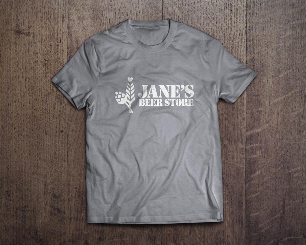 Jane's Beer Store T-Shirt