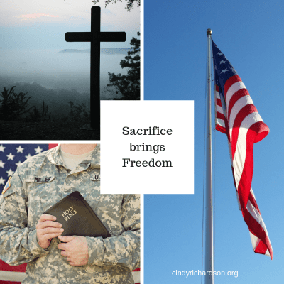 Sacrifice brings Freedom