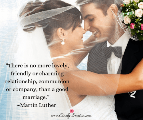 Martin Luther King quote on marriage